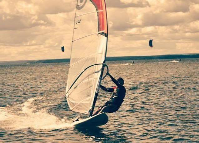 ja na windsurfingu
